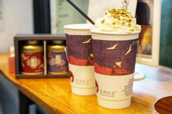 茶颜悦色奶茶产品