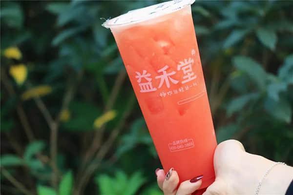 益禾堂奶茶产品