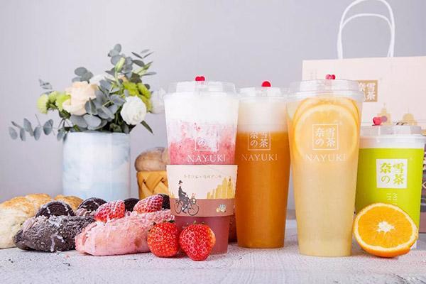 奈雪的茶奶茶产品