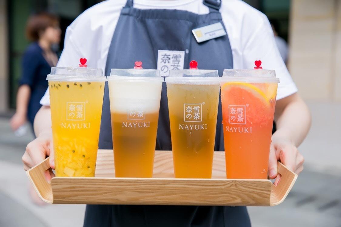奈雪的茶奶茶加盟