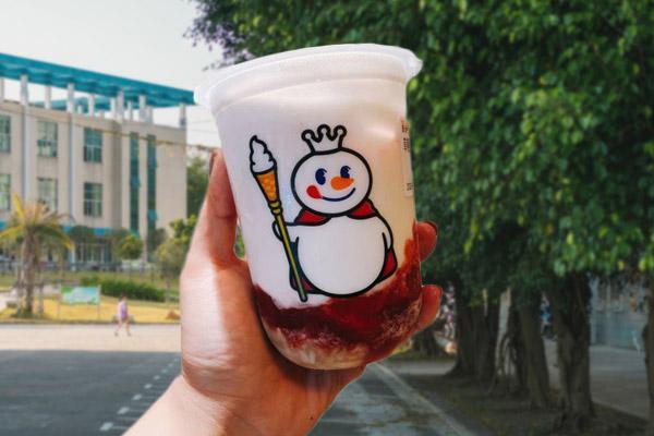 蜜雪冰城奶茶