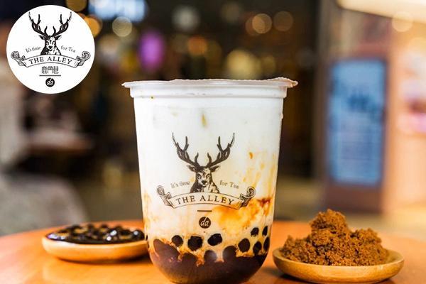 鹿角巷奶茶加盟