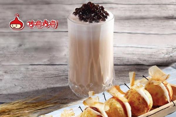 咕噜咕噜奶茶加盟