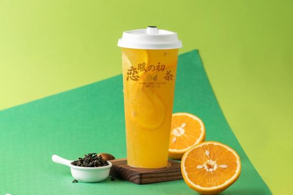 恋暖初茶奶茶加盟