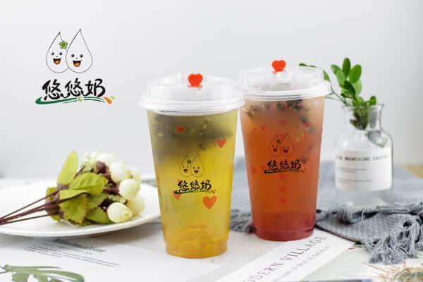 悠悠奶茶加盟