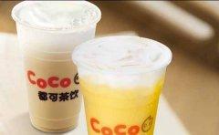 coco都可奶茶加盟费多少钱