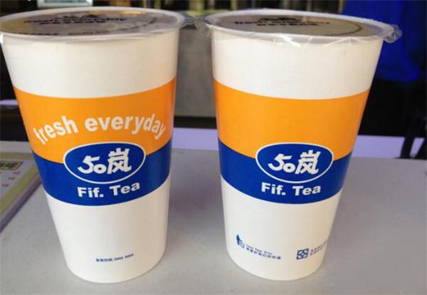 50岚奶茶加盟费多少?1-5万元轻松开店