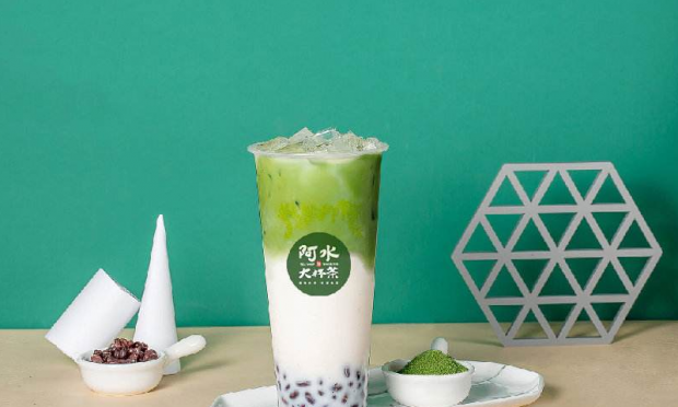 阿水大杯茶产品宣传图