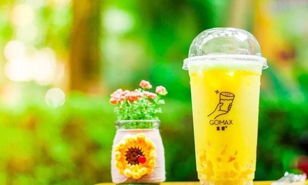 果麦奶茶柠檬草产品