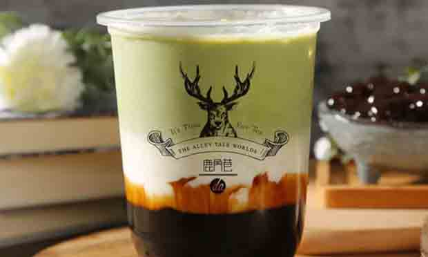 鹿角巷抹茶厚乳奶茶