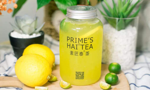 素匠泰茶的柠檬味饮品
