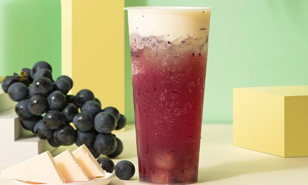 卡旺卡奶茶满杯葡萄