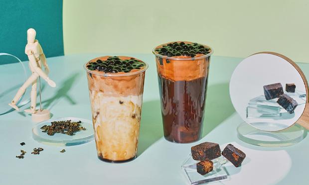 佐敦道奶茶产品宣传图