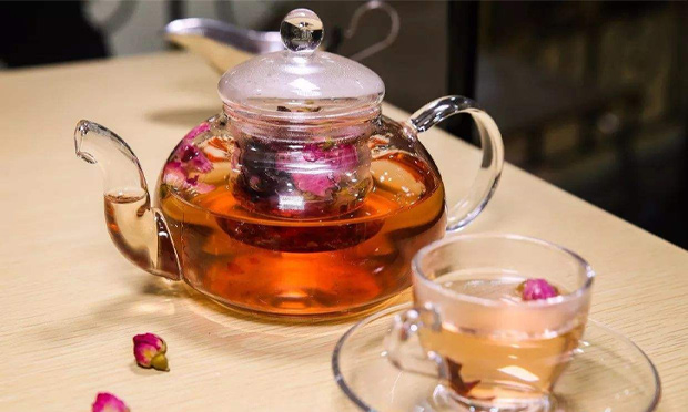 花之林茶餐厅玫瑰花茶