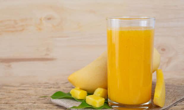 柠檬芒果茶