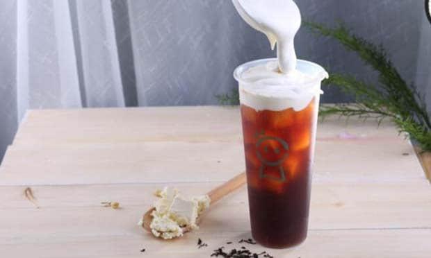 晴天见奶茶的特色奶盖茶