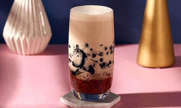 王子奶茶产品宣传图