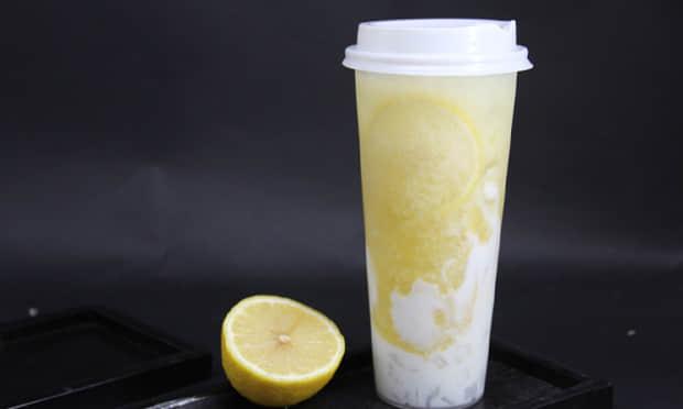 香约奶茶产品实拍图