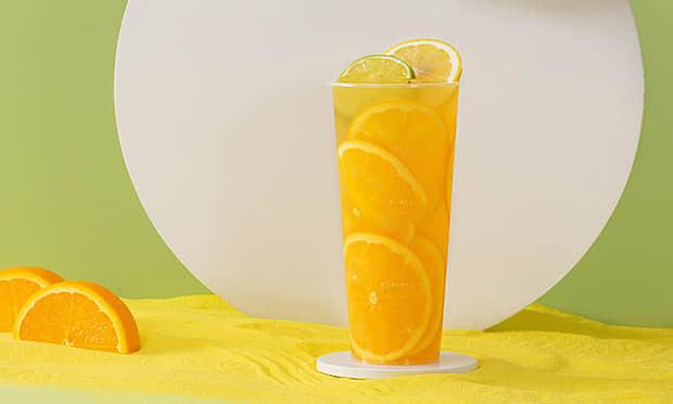 小啾啾鲜橙果饮