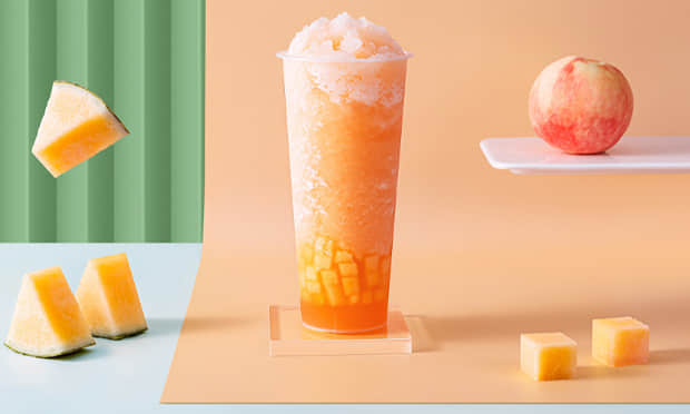 白巷子奶茶产品宣传图