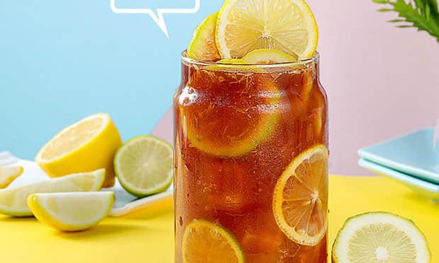 西柠茶饮柠檬茶