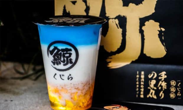 琉璃鲸奶茶产品实拍图