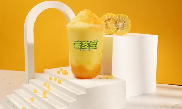 茶芝兰饮品宣传图