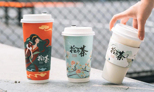 拾叁茶饮品实拍图