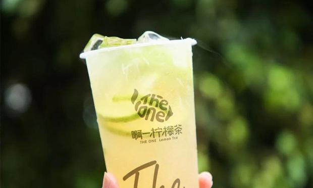 啊一柠檬茶饮品实拍图