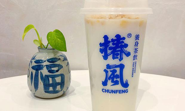 椿风奶茶产品实拍图