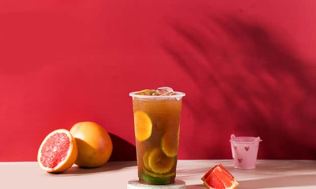 港饮之港鲜果茶系列饮品
