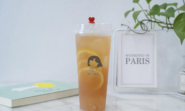 王小姐的茶饮品宣传图