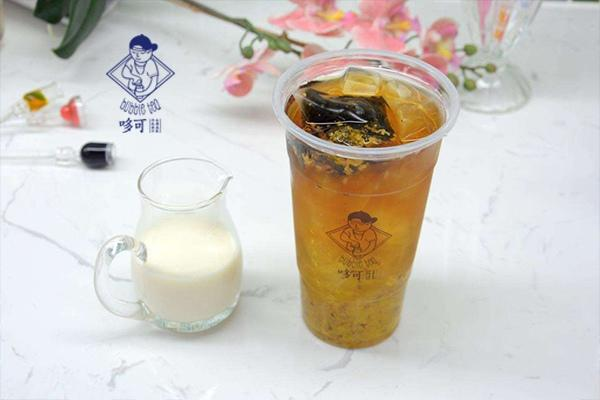 哆可奶茶产品图2