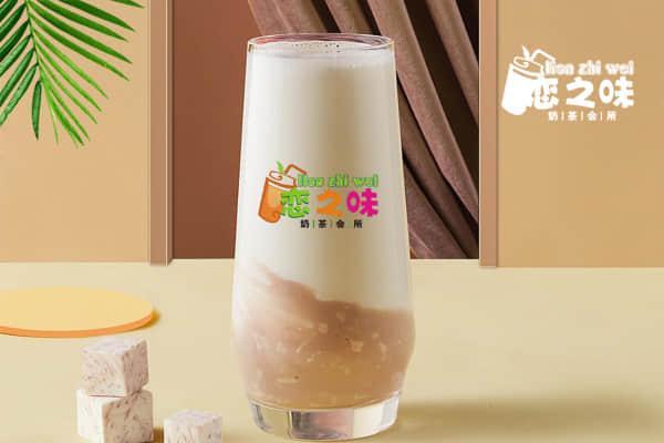 恋之味奶茶产品图4