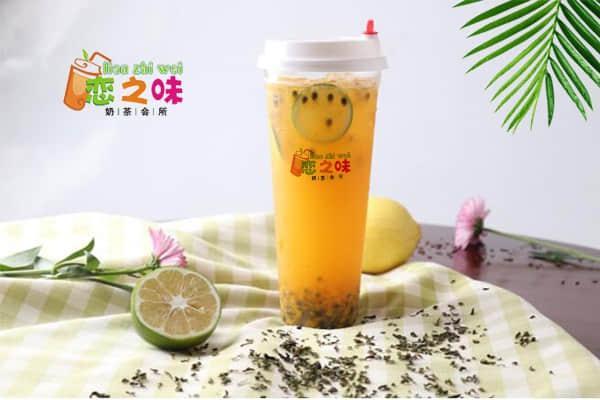 恋之味奶茶产品图2