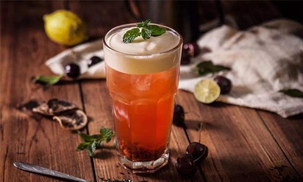 琉璃鲸奶茶加盟图片